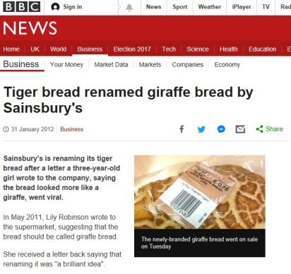 BBC graffe